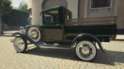 Ford A Pick-up 1930 for GTA 5 miniature 10