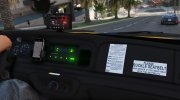2011 Ford Crown Victoria LA Taxi for GTA 5 miniature 2