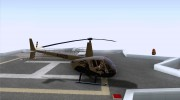 Robinson R44 Raven II NC 1.0 Скин 4 for GTA San Andreas miniature 5