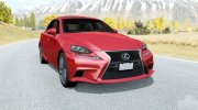 Lexus IS 350 F Sport (XE30) 2013 for BeamNG.Drive miniature 1