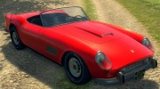 Ferrari 250 California 1957 for Mafia II miniature 6