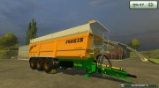 Joskin Trans-Space 8000-27 for Farming Simulator 2013 miniature 1