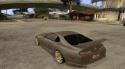 "Toyota Supra Rz ""The Bloody Pearl"" 1998 for GTA San Andreas miniature 3"