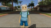 Finn From Cartoon Network Universe Fusionfall Heroes для GTA San Andreas миниатюра 5
