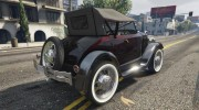 Ford T 1927 Roadster for GTA 5 miniature 13