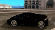 Lamborghini Gallardo for GTA San Andreas miniature 2