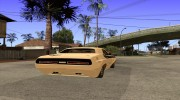 Dodge Challenger Speed 1971 for GTA San Andreas miniature 4