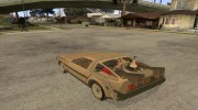 DeLorean DMC-12 (BTTF2) для GTA San Andreas миниатюра 3