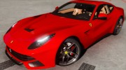 Ferrari F12 Berlinetta 2013 for GTA 5 miniature 5