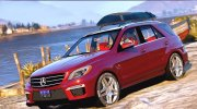 2015 Mercedes-Benz ML63 AMG for GTA 5 miniature 1