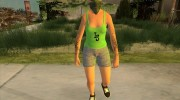 Female GTA Online Grove Style for GTA San Andreas miniature 2