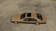 Mercedes Benz 400 SE W140 (Wheels style 3) for GTA San Andreas miniature 2