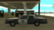 Ford LTD Crown Victoria 1987 Medford Special Police for GTA San Andreas miniature 5