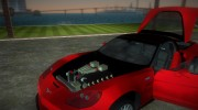 Chevrolet Corvette ZR1 Black Revel for GTA Vice City miniature 6