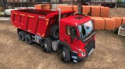 Volvo FMX 8x4 for Euro Truck Simulator 2 miniature 1