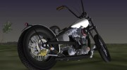 Harley-Davidson Shovelhead for GTA Vice City miniature 2