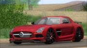 Mercedes-Benz SLS AMG Black Series 2013 для GTA San Andreas миниатюра 12