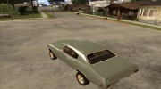 Chevrolet Chevelle SS for GTA San Andreas miniature 3