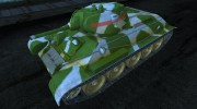 T-34 7th Guards Armored Brigade, Karelia, 1944 for World Of Tanks miniature 1