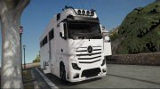Mercedes-Benz Actros Motorhome (Beta) for GTA 5 miniature 1