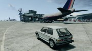 Volkswagen Rabbit 1986 для GTA 4 миниатюра 3