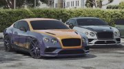 2018 Bentley Continental Supersports for GTA 5 miniature 1