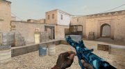 WarFace AAC Honey Badger Стужа for Counter Strike 1.6 miniature 5