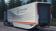 Mercedes Aerodynamic Trailer 1.2 for Euro Truck Simulator 2 miniature 2