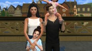 Family Photo Posepack for Sims 4 miniature 1