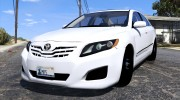 Toyota Camry 2011 for GTA 5 miniature 3