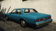 Chevrolet Impala 1985 for GTA 5 miniature 3