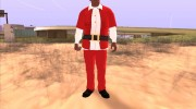Franklin Santa Claus clothing for GTA San Andreas miniature 2