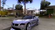 BMW Z4 Supreme Pimp TUNING volume I для GTA San Andreas миниатюра 1