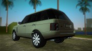 Land Rover Range Rover 2010 for GTA Vice City miniature 4