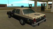 Ford LTD Crown Victoria 1987 Florida Highway Patrol for GTA San Andreas miniature 4
