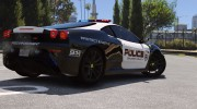 Ferrari F430 Scuderia Hot Pursuit Police для GTA 5 миниатюра 18