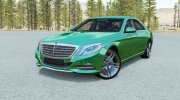Mercedes-Benz S500 (W222) 2013 for BeamNG.Drive miniature 1