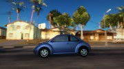 Volkswagen New Beetle 2004 Tunable for GTA San Andreas miniature 4
