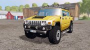 Hummer H2 SUT 2005 for Farming Simulator 2015 miniature 1