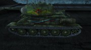 Т-34-85 LeoN47AK for World Of Tanks miniature 2