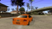 Ford Falcon XR8 Taxi для GTA San Andreas миниатюра 4