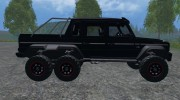 Mercedes-Benz G65 AMG 6X6 for Farming Simulator 2015 miniature 6