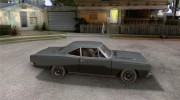 Plymouth Roadrunner 383 для GTA San Andreas миниатюра 5