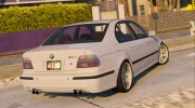 BMW M5 E39 1.1 for GTA 5 miniature 6