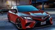 Toyota Camry XSE 2018 for GTA 5 miniature 1