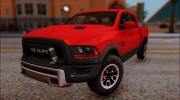 Dodge Ram Rebel 2017 для GTA San Andreas миниатюра 1
