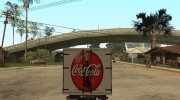 Renault Trafic Mk2 Coca Cola for GTA San Andreas miniature 3