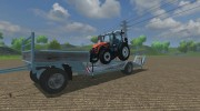 Lowloader Trailer for Farming Simulator 2013 miniature 5