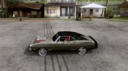 Dodge Charger R/T 1969 для GTA San Andreas миниатюра 2