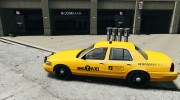 Ford Crown Victoria 2003 v.2 Taxi для GTA 4 миниатюра 2